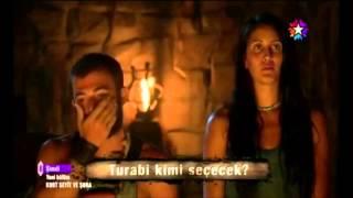 Survivor Turabi'den Sahra için özlü sözler