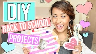 DIY Back to School Projects + GIVEAWAY! Supplies + Decor | Ariel Hamilton