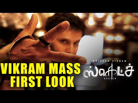 Thumbnail: Vikram 53rd Movie | Sketch Movie First Look Poster | Vikram | Tamanna Bhatia
