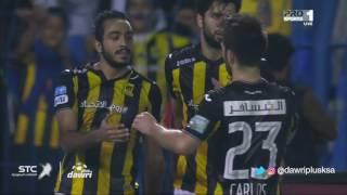 هدف الاتحاد الثاني ضد القادسية   (محمود كهربا) في الجولة 10 من دوري جميل