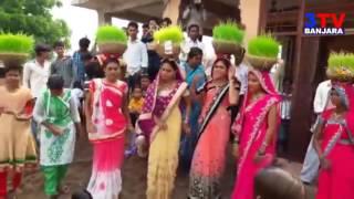 Banjara Samaj Teej Festival Traditional Song with Dance    3TV BANJARA