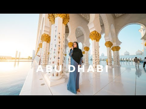 Beautiful Abu Dhabi – Top Things To Do // Grand Mosque, Sunset Camel Ride & More!