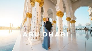 Beautiful Abu Dhabi - Top Things To Do // Grand Mosque, Sunset Camel Ride & More!