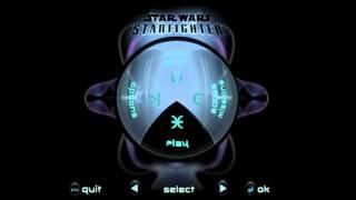 Star Wars: StarFighter Title Theme Animatic (2001, LucasArts)