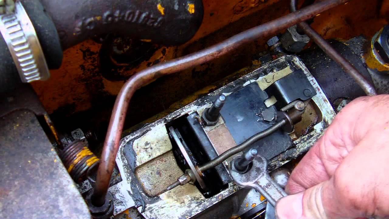 Außergewöhnlich CAV Einspritzpumpe reinigen Perkins 3.152 - YouTube @PR_19