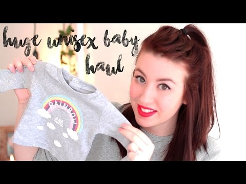 HUGE UNISEX BABY CLOTHING HAUL | ONCE IN A LULLABY