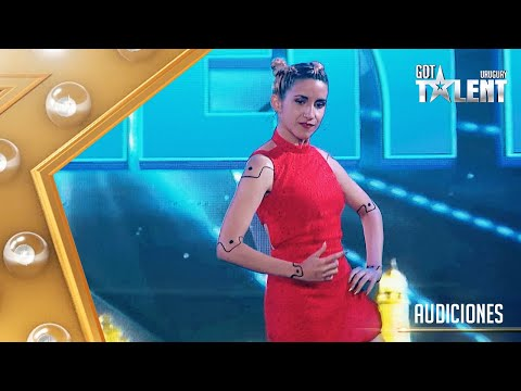 El baile del robot de ANA no sorprendió al jurado