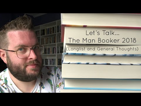 Lets Talk... The Man Booker Prize 2018