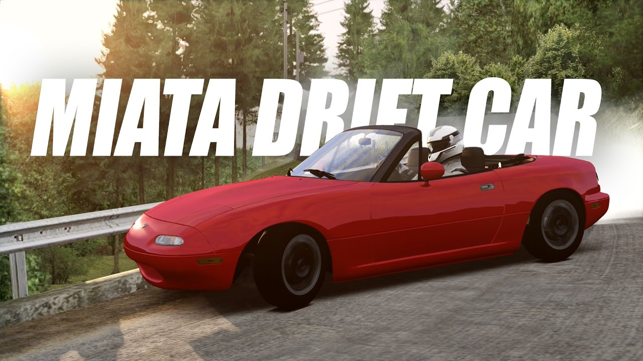 Drift Workshop's Miata Drift Car in Assetto Corsa (VR + Setup Cam)
