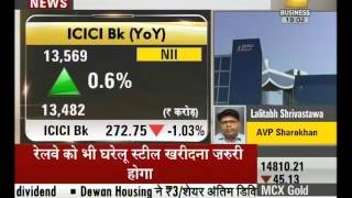 Results of Q4 of ICICI bank came as expected