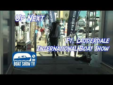 Ft. Lauderdale Boat Show Part 1 Episode 13 on Boat Show TV 2014