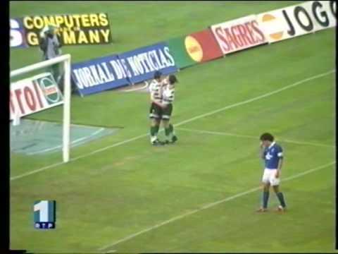 33J :: Sporting - 3 x Belenenses - 1 de 1996/1997