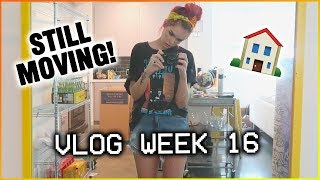 VLOG WEEK 16: Our last night in our apartment!