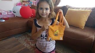 Elif Terzi oldu çanta dikti , eğlenceli çocuk videosu