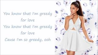 Ariana Grande ~ Greedy ~ Lyrics (+Audio)