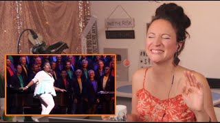 Vocal Coach Reacts to Random Girl - Alex Newell and Boston Gay Men's Chorus