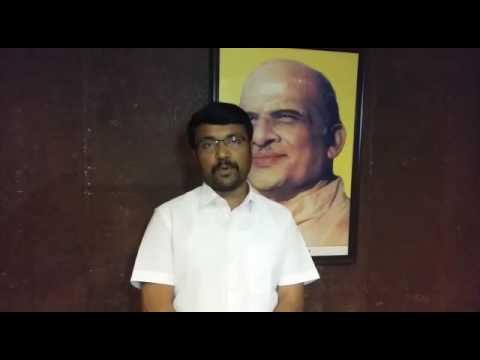 ABVP National General Secretary Shri Vinay Bidre