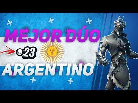 DÚOS CON EL TOP 1 DE ARGENTINA!!(23 KILLS WIN)-Wazzxr- Fortnite Argentina