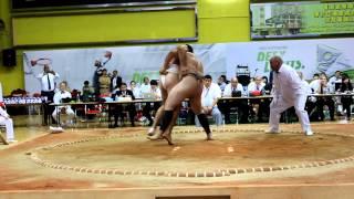 Чемпионат мира Сумо 2012 Герман.-Америка(Подхват).MOV