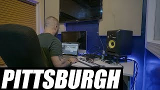 Music Video Tour Day 1 | Making A Beat in Pittsburgh | VLOG 142