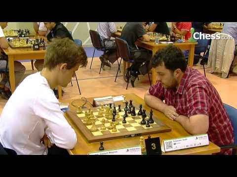 World Blitz Championship: Carlsen vs Guseinov