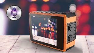 Esta cámara de acción se puede controlar por voz ¿Funciona?