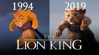 THE LION KING Official Trailer  1994 vs 2019  Disney, New Movie Trailers HD