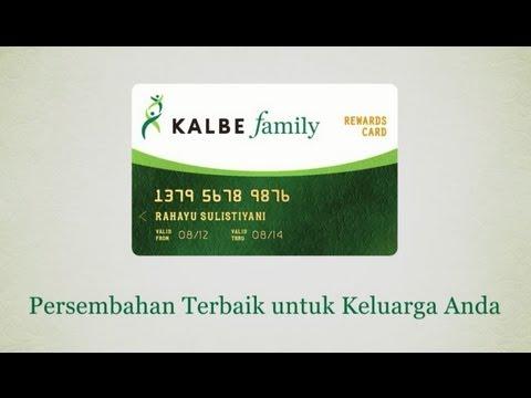 KALBE Family Rewards Card
