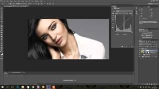 Adobe Photoshop CS6 Урок №1: Смяна на цвят на коса