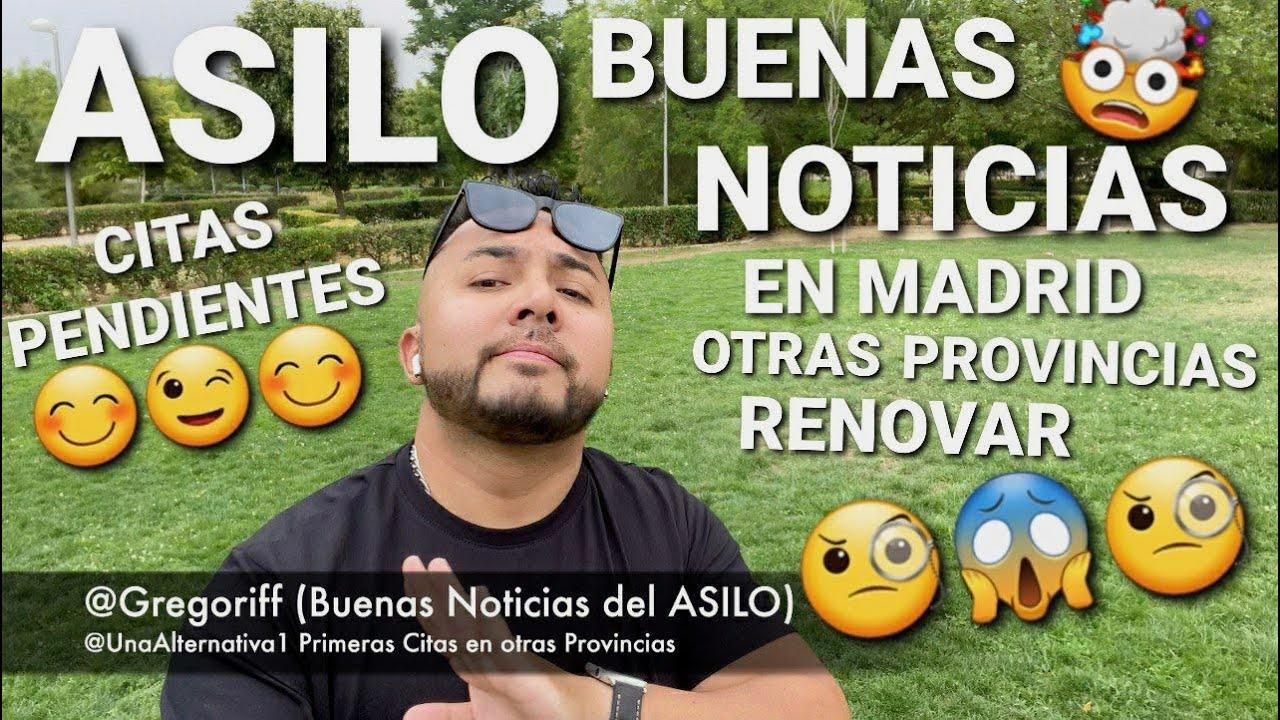 🇪🇸ASILO EN ESPAÑA🇪🇸 (NUEVAS BUENAS 😊 NOTICIAS) #ASILO #MADRID #RENOVAR #GREGORIFF #UNAALTERNATIVA1