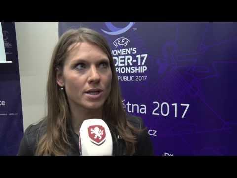 Tisková konference k Mistrovství Evropy žen do 17 let