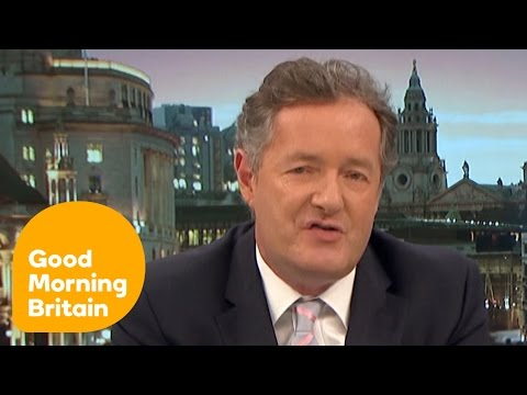 Susanna and Piers Debate Meryl Streep's Attack on Donald Trump | Good Morning Britain