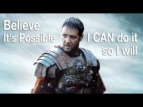 Best Motivational Speech, Believe It's Possible, I Can do so I will  [Motivation]