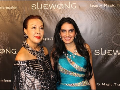 Red Carpet and Fashion Show at Cicada With Designer Sue Wong and the Cedars