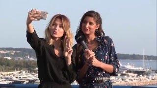 #Cannes2016 : Coup de projecteur avec Caroline Receveur et Malika Ménard
