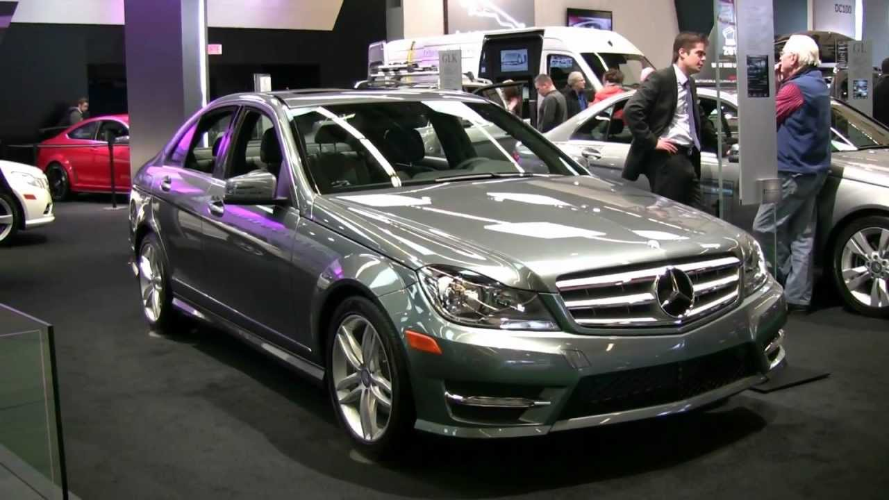 2012 mercedes benz c250 4matic exterior at 2012 montreal for Mercedes benz montreal