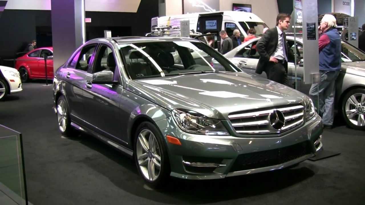 2012 Mercedes-Benz C250 4matic Exterior at 2012 Montreal ...