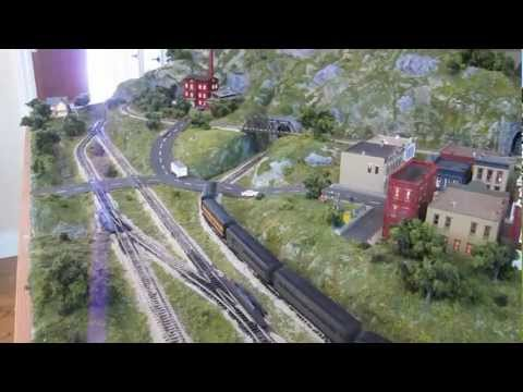 Jackson Family N-Scale Model Train Layout