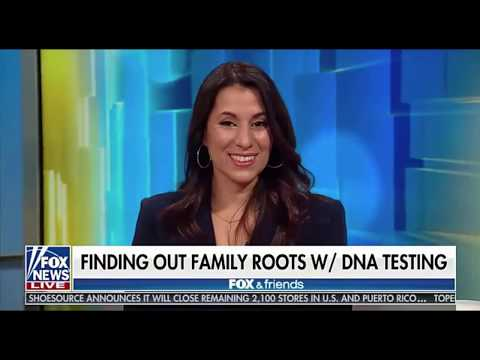 MyHeritage DNA Reveal on Fox & Friends
