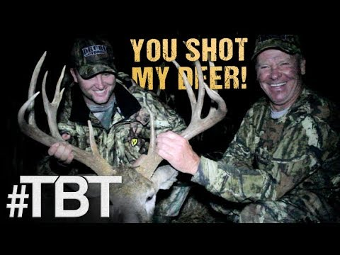 DIFFERENT HUNTERS, SAME DEER!? It's A Father-Son Combo!