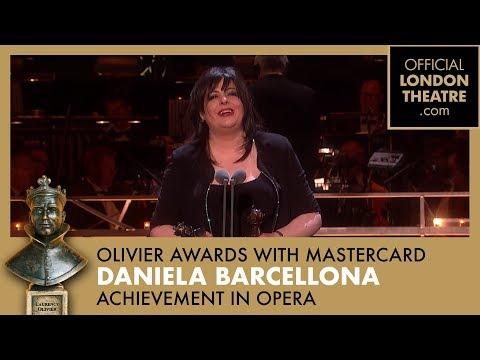 OUTSTANDING ACHIEVEMENT IN OPERA - Daniela Barcellona and Joyce Didonato - Olivier Awards 2018