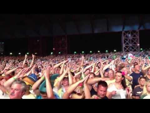 Jimmy Buffett Concert Cincinnati 2013 - Fins