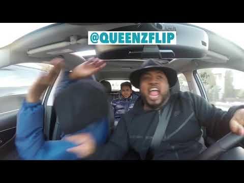 QUEENZFLIP GOES CRAZY TO DJGMONEY SOCA MIX!!