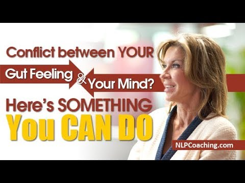 Conflict between your Gut Feeling and Your Mind? - Here's something you can do