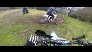 NOUVELLE MOTO !? DIRT BIKE DRIFT 140 YX - Balade Entres Potes - Test 250 Apollo