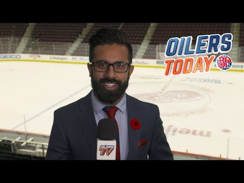 OILERS TODAY | Pre-Game at DET