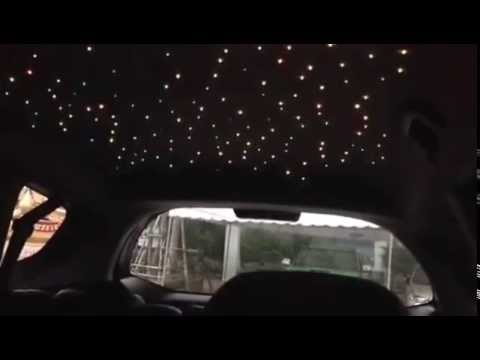 Star Ceiling in car - YouTube