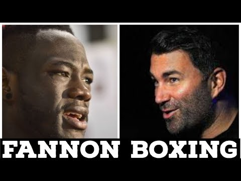 EDDIE HEARN BELIEVES DEONTAY WILDER
