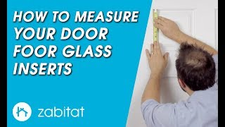 How to Qualify Your Door for a new ODL Door Glass Insert from Zabitat
