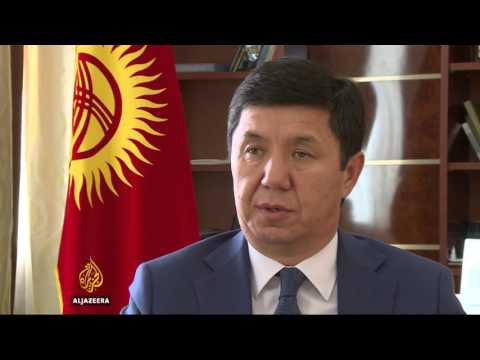 Kyrgyzstan scares residents amid talks with gold mine owner